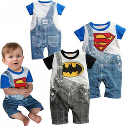 Wholesale In stock pieces baby clothing years infant one piece print romper cute cartoon sleeveless rompers TLZ L0091