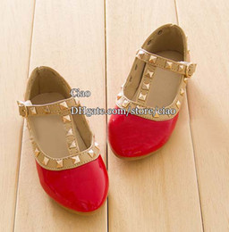 Discount Girls Red Dress Shoes | 2017 Red Girls Dress Shoes on ...