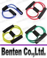 Wholesale LLFA5533 Resistance Bands Stretch Fitness Tube Fitness Exercise For Yoga Workout