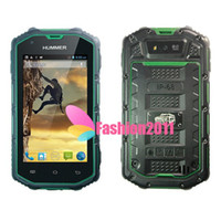 3G Waterproof 4'' Hummer H5 MTK6572 Dual Core Android Phone ...