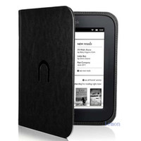 Wholesale PU Leather Cover For Barnes amp Noble nook simple touch case reader zl260