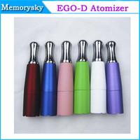 Non-Replaceable 2.0ml Metal Ego-d Wax vaporizer Atomizer e electronic cigarette ego clearomizer clearomizers atomizer ego-d clearomizer ego-d atomizer 002330