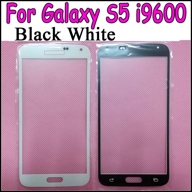 Buy Galaxy S5 Glass lens Replacement Black White Front Digitizer Cover Samsung i9600