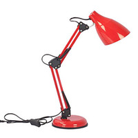 E27 No AC Rechargeable Fold Eyeshield Office LED Table Desk Lamp Light With Swing Arm led Book Reading Lamp Free Shipping