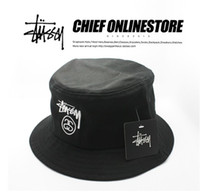 Wholesale new fashion top quality STUSSY BUCKET HAt ASAP A AP HUF cap with tags size M L XL