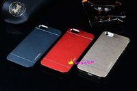 Wholesale Hot Selling thin Motomo Brushed Brush Aluminium METAL Slate Hard Back Case Cover For iPhone S G