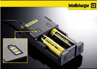 Wholesale Nitecore I2 contains charge Universal Charger for Battery E Cigarette in Intellicharger Rechargerable