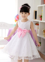 TuTu Summer A-Line wholesale 10pcs lot 2014 new design girl princess dress, beautiful flower dress,kids evening clothes