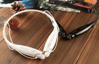 Wholesale HBS Sport Neckband Headset In ear Wireless Headphones Bluetooth Stereo Earphones Earphone Headsets For LG iphone5 S S4 Note Fashion