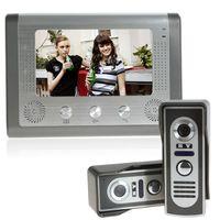bell vision system - 7 Inch Home Security Video Door Phone Doorbell camera Intercom doorbell System with Cameras Monitor Night Vision Door Bell ACA_014
