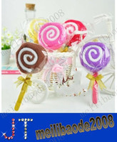 Wholesale New Fashion Lollipops cake towel cotton towel Party Favors Wedding birthday gift Christmas gift MYY1430