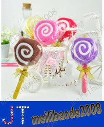 el envío libre de la nueva manera Lollipops toalla de la torta 100% toalla de algodón favores de partido Boda regalo de cumpleaños regalo de Navidad MYY1430