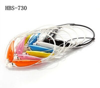 Wholesale HBS Wireless Bluetooth Stereo Headset Earphone Music Sport Neckband TONE for Cellphones iPhone LG Samsung