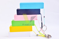 Direct Chargers Universal OEM 2600mAh Power Bank USB Port Perfume Universal Portable Extend Battery Charger Multi Color Case For iphone 6 4 4s 5 5s 5C Ipad AIR Note 4