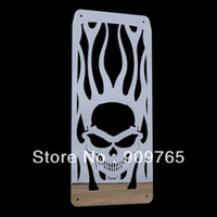 Wholesale Skull Flames Radiator Grille Cover Stainless For Honda Shadow Velorex VT Steed VLX All Years