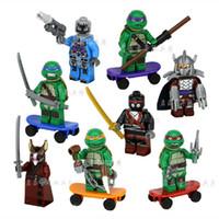 2014 new TMNT toys Mirage Teenage Mutant Ninja Turtles build...