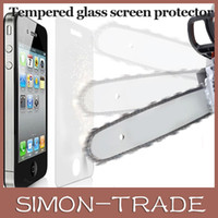 Wholesale Premium Tempered Glass Screen Protector for iPhone S S C Toughened protective film With Retail Package DHL free