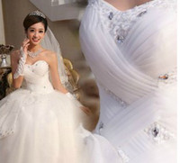 Wholesale new new Arrival lace bra straps to Princess butterfly knot wedding Dress Wedding Gown