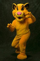 Wholesale ohlees Cub Simba lion king movie fursuit for sale Character for adult size animal mascot costmes custom made
