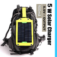 Wholesale W High efficiency outdoor backpack solar charging bag solar panel charger For Mobilephone Power Bank MP3