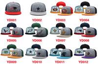 Wholesale Reflective Caps Football Snapbacks for Boys Girls Cool Design Hats Flat Cap Hip Hop Cap Sports Caps for Outdoorwear Top Fashion Hats