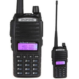Wholesale 2016 NEW Long Range Baofeng UV Dual Band VHF MHz UHF MHz FM Transceiver Walkie Talkie Two Way Radio SEC_029