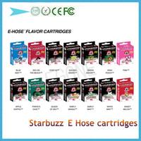 Cheap HOT Sale 2014 Starbuzz E Hose cartridges With Various Flavours Starbuzz ehose e cigs New Trend E Hose cartridges Electronic Cigarette DHL