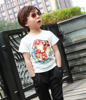 Boy Summer Standard Children Baby Kids Clothing Tees Cool Cartoon Baby Boys T Shirts For Summer Children Outwear Baby T-shirt 3-7 Year