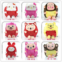 Wholesale 2014 Direct Selling Limited Girls Cute Kid Children Backpack Zoo Cartoon Animal Toddlers School Bags Children s
