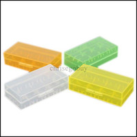 plastic storage - E cigs ecig Plastic Battery Case Box Holder Storage Container pack or CR123A and for mechanical mod batteries