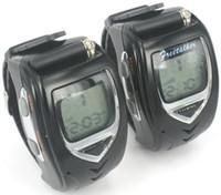 Wrist Watch walkie talkie watch - Pair Digital Mobile Two Way Radio Intercom Walkie Talkie Watch Backlit LCD Travel Wrist Watch Dual Band Interphone Transceiver SEC_003