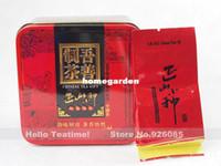 al por mayor té longan-Fragancia por mayor-Longan refinar chino lapsang chino wuyi super té negro zhengshanxiaozhong hong cha 9bags 45g lata embalaje del regalo
