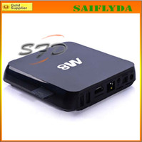 Wholesale M8 Android TV BOX Amlogic S802 quad core Android KitKat OS G ram gb rom BT G G WIFI XBMC android smart tv stick