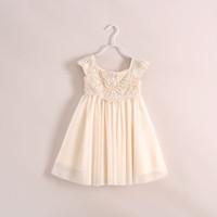 Cheap TuTu girls dress Best Summer A-Line lace