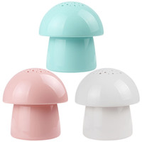 Wholesale 5V Mini Cute Mushroom Shape Anion Air Purifier amp USB Portable Aromatherapy Air Humidifier for Home or Office