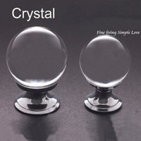 Cheap wholesale 25mm Diameter Diamond Shape Crystal Glass Cabinet Drawer Furniture Pull Handle Knob Free shipping