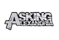 ask metal - ASKING ALEXANDRIA Grunge Music Band LOGO Embroidered cm x cm NEW IRON ON and SEW ON Patch Heavy Metal Custom design patch available