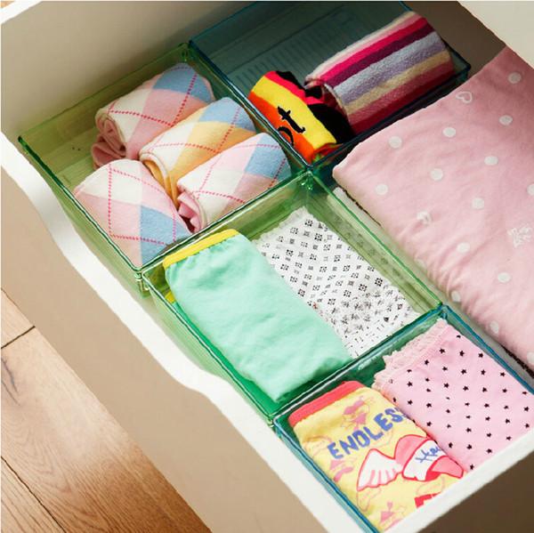 Come organizzare e ordinare i cassetti - Organizzare cassetti bagno ...