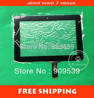 Wholesale Original Ainol Novo7 Novo VENUS LCD touch screen digitizer TRAKCING CODE
