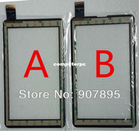 Al por mayor-bajo $ 2,8 7inch para Domi X5 MTK6577 MTK6527 Tablet PC de pantalla táctil panel de vidrio digitalizador XC-PG0700-025-A1-XC-A1 PG0700-024