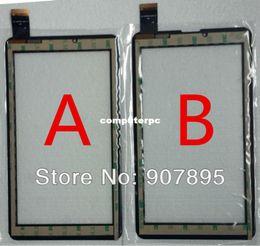 Mtk6577 táctil en venta-Al por mayor-bajo $ 2,8 7inch para Domi X5 MTK6577 MTK6527 Tablet PC de pantalla táctil panel de vidrio digitalizador XC-PG0700-025-A1-XC-A1 PG0700-024