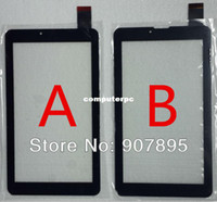 Al por mayor-7inch MTK6577 MTK6527 digitalizador de pantalla táctil tablet pc TELÉFONO panel táctil de cristal CTD FM707101KC FM707101KD
