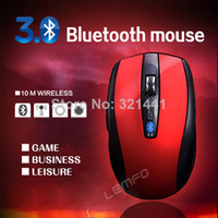 Wholesale Wireless Bluetooth Optical Mini Mouse DPI For Laptop Notebook Macbook PC Android Tablet Sale Black Blue Red Gray Yellow