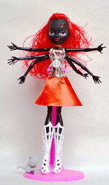Wholesale 28CM Monster Hight doll Monster high doll monster high doll Removable Black Spider Polyarticular