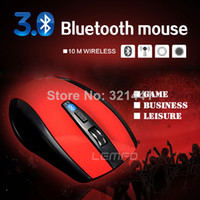 Wholesale 5pcs Wireless Bluetooth Optical Mini Mouse DPI For Laptop Notebook Macbook PC Android Tablet Newest