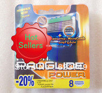 Wholesale Best Quality Proglide Power S Shaving Razor Blades For Men sharpener shaving razor blades