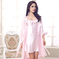 Wholesale 2014 spring and summer new sexy female models suspenders silk pajamas piece Lingerie Korea tracksuit a generation of fat