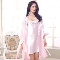 Wholesale new sexy female models suspenders silk pajamas piece Lingerie Korea tracksuit a generation of fat