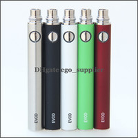 1100mAh Non-Adjustable Electronic Cigarette Evod battery e cigarette battery for ego t electronic cigarette atomizer clearomizer vaporizer rebuildable atomizer e cig battery