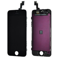 For Apple iPhone LCD Screen Panels  Black LCD Display+Touch Screen Digitizer Assembly Replacement for iPhone 5S